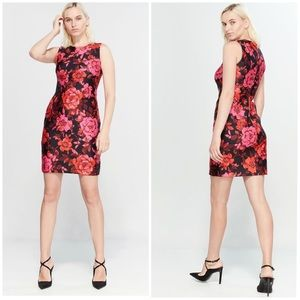 TOMMY HILFIGER Victoria Floral Sheath Dress Sz 10